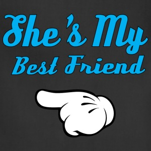 She is my Best Friend Hoodies - Adjustable Apron
