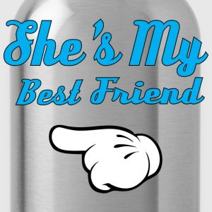 She is my Best Friend Hoodies - Water Bottle