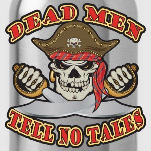 Dead Men Tell No Tales Long Sleeve Shirts - Water Bottle