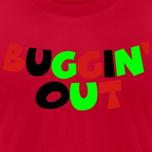 Buggin' Out Hoodies - Men's T-Shirt by American Apparel