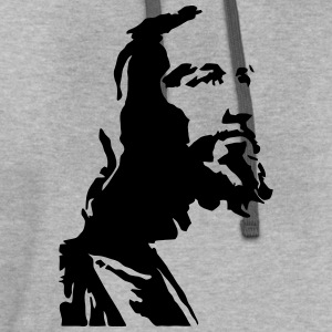 Jesus Profile T-Shirts - Contrast Hoodie