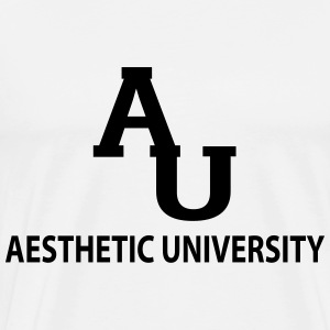 Aesthetic University Hoodies - Men's Premium T-Shirt