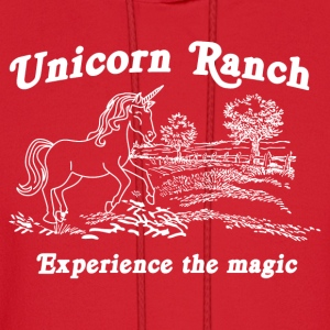 Unicorn Ranch. Experience the Magic Women's T-Shirts - Men's Hoodie