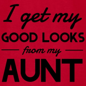 I get my good looks from my Aunt Baby & Toddler Shirts - Men's T-Shirt by American Apparel