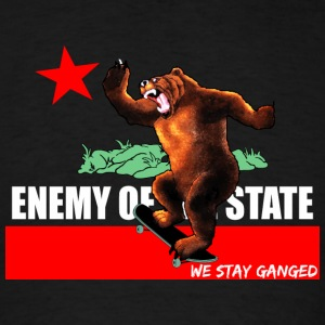 Enemy Of State Tanks - Men's T-Shirt