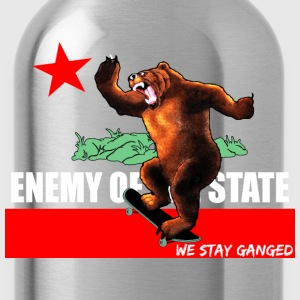 Enemy Of State Tanks - Water Bottle