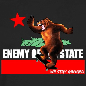 Enemy Of State Tanks - Men's Premium Long Sleeve T-Shirt