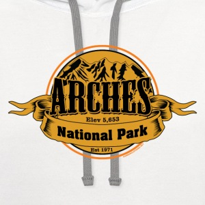 Arches National Park - Contrast Hoodie