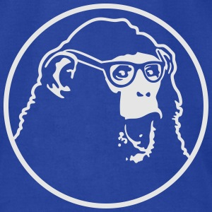 nerd ape with glasses Tanks - Men's T-Shirt by American Apparel