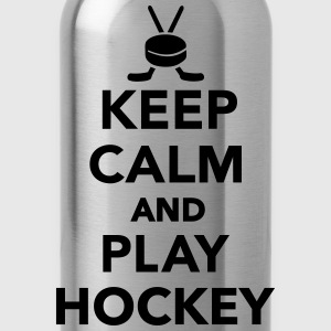 Keep calm and play Hockey Kids' Shirts - Water Bottle
