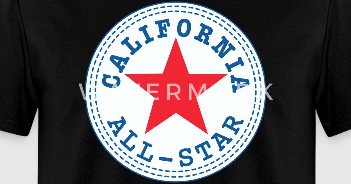 California all star t shirt spreadshirt for All star t shirts