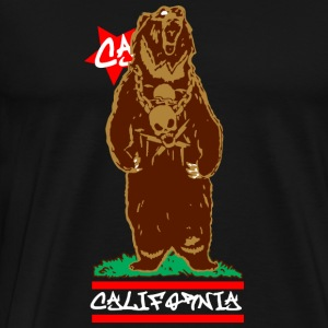 CALI Bear California Tanks - Men's Premium T-Shirt