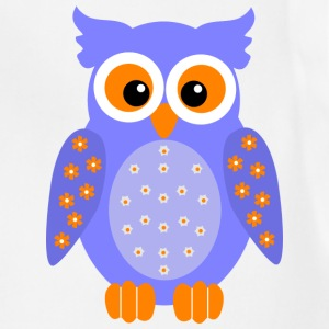 owl Women's T-Shirts - Adjustable Apron