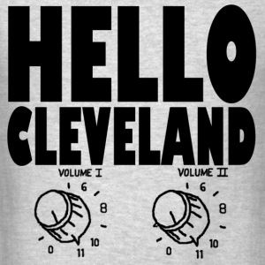 Hello Cleveland Men's Long Sleeve T-shirt - Men's T-Shirt