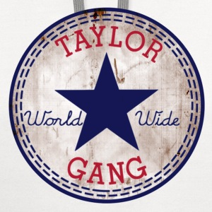 taylor_gang_2_new T-Shirts - Contrast Hoodie