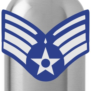 United States Air Force - Senior Airman Zip Hoodies & Jackets - Water Bottle