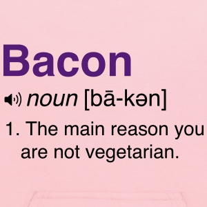 Bacon Definition T-Shirts - Kids' Hoodie