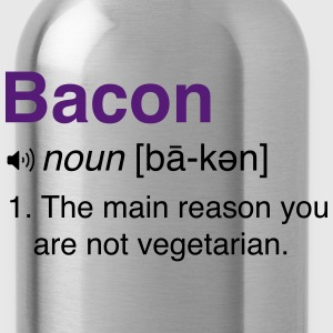 Bacon Definition T-Shirts - Water Bottle