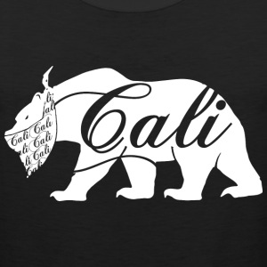 CALI Bandana White Bear Hoodies - Men's Premium Tank