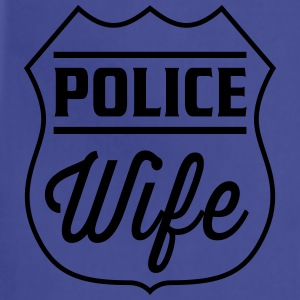 Police Wife Women's T-Shirts - Adjustable Apron