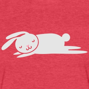 sleepy bunny Tanks - Fitted Cotton/Poly T-Shirt by Next Level