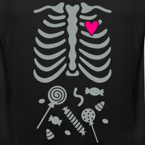 Ribcage with Candy Belly Kids' Shirts - Men's Premium Tank