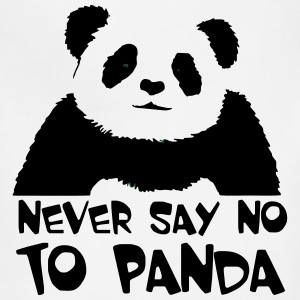 never_say_no_to_panda T-Shirts - Adjustable Apron
