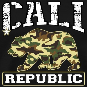 Cali Republic Bear Tanks - Men's Premium T-Shirt