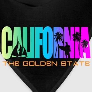 California Beach Golden State T-Shirts - Bandana