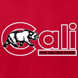 Cali The Golden State Tanks - Men's T-Shirt by American Apparel