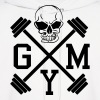 Gym Skull Dumbbell Barbell Weight Athletics 1c Hoodies - Men's Hoodie
