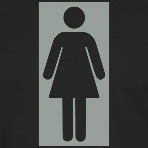 bathroom figure female .0_ T-Shirts - Men's Premium Long Sleeve T-Shirt