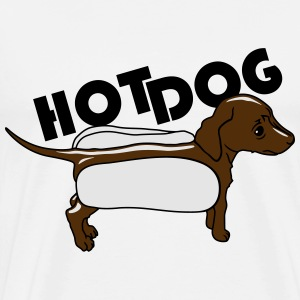 Hot dog Hoodies - Men's Premium T-Shirt