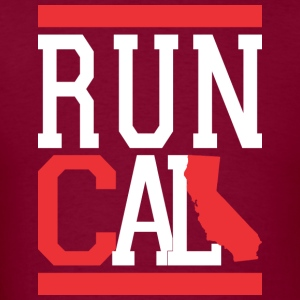 Run Cali Hoodies - Men's T-Shirt