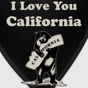 I Love You California Women's T-Shirts - Bandana