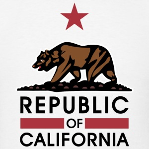 Republic Of California Tanks - Men's T-Shirt