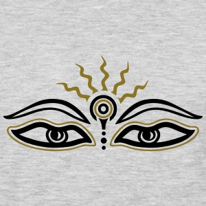 Buddha, third eye, symbol wisdom & enlightenment Women's T-Shirts - Men's Premium Long Sleeve T-Shirt