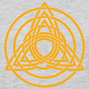 Triquetra, Germanic paganism, Celtic art, T-Shirts - Men's Premium Long Sleeve T-Shirt