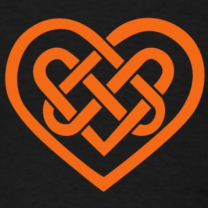 Celtic heart, symbol - infinite love & loyalty Long Sleeve Shirts - Men's T-Shirt