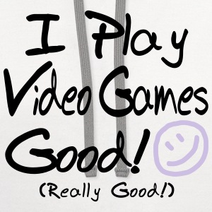 I Play Video Games Good! (Kids') - Contrast Hoodie