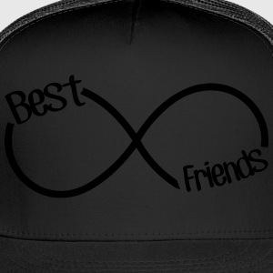 Best Friends Infinity  Hoodies - Trucker Cap