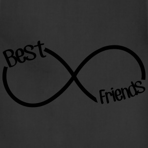 Best Friends Infinity  Hoodies - Adjustable Apron