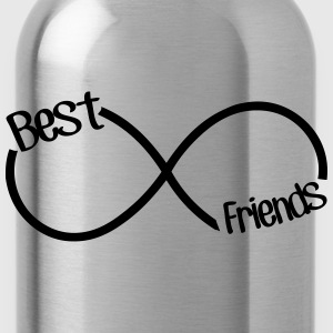 Best Friends Infinity  Women's T-Shirts - Water Bottle