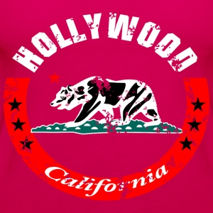 Hollywood California Hoodies - Women's Premium Tank Top