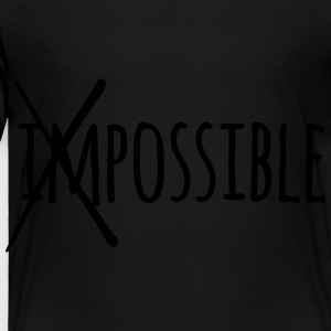 Impossible / Possible 1c Kids' Shirts - Toddler Premium T-Shirt