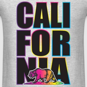 California Multi Colors Hoodies - Men's T-Shirt