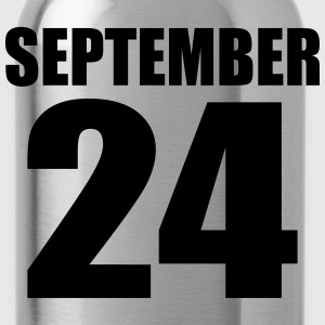 september 24 T-Shirts - Water Bottle
