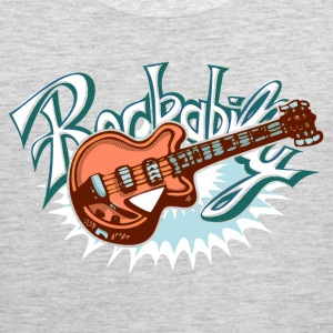 rockabilly logo Women's T-Shirts - Men's Premium Tank