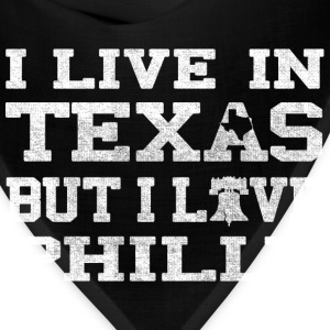 Live Texas love Philly T-Shirts - Bandana