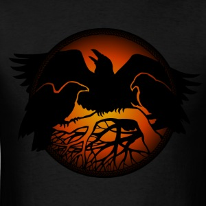 Raven Art Hoodie Shirt Raven Spirit Animal 4XL 3XL - Men's T-Shirt